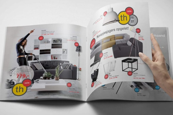 nrtwentyone • portfolio preview • Trendhopper Rebrand - Retail Folder