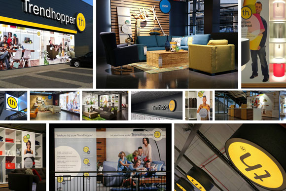 nrtwentyone • portfolio preview • Trendhopper Rebrand & visual identity