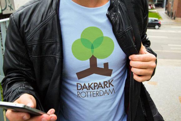 nrtwentyone • portfolio preview • Dakpark Rotterdam Logo & identity design