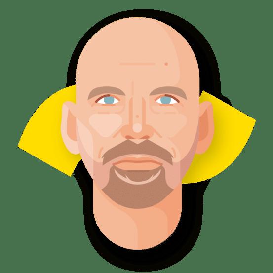 nrtwentyone • Wilfred Freelance Senior Creative • Headshot illustation by Refreshh